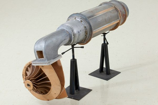 Air Compressor and Turbine, by Murray Favro