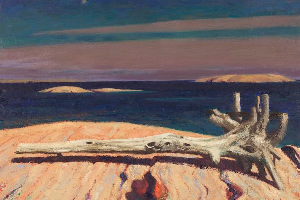 Derelict, Split Rock Island, Georgian Bay, by Charles Comfort