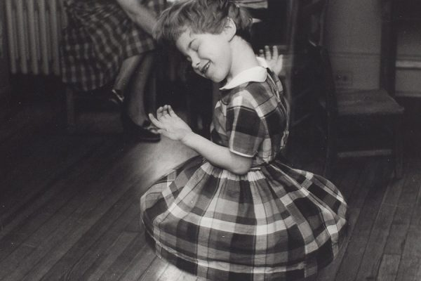 Girl Twirling - Helen Keller Cottage, by George Zimbel