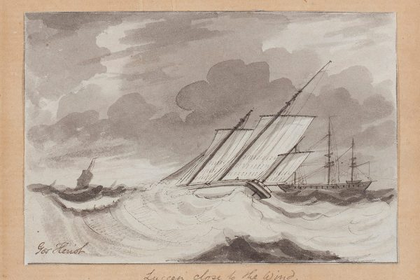 Lugger Close to the Wind by George Heriot