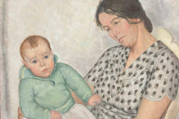Mother and Child, by Elizabeth Cann