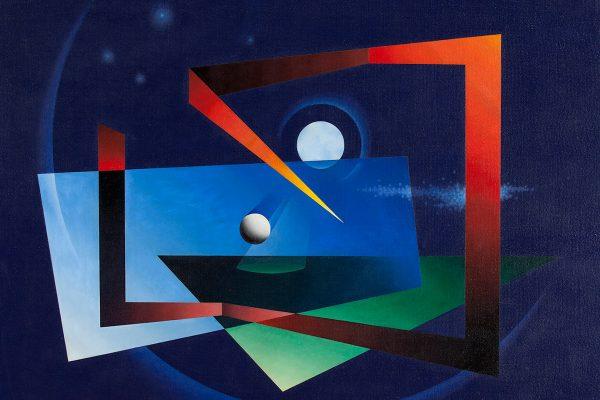 Night Forms, by Lawren P. Harris