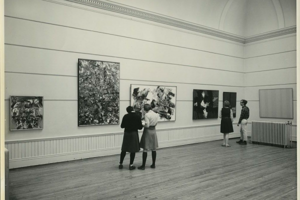 Owens in 1965, looking a bit different than the gallery today.