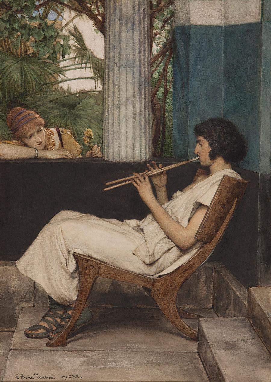 Music Hath Charms, by Lawrence Alma-Tadema